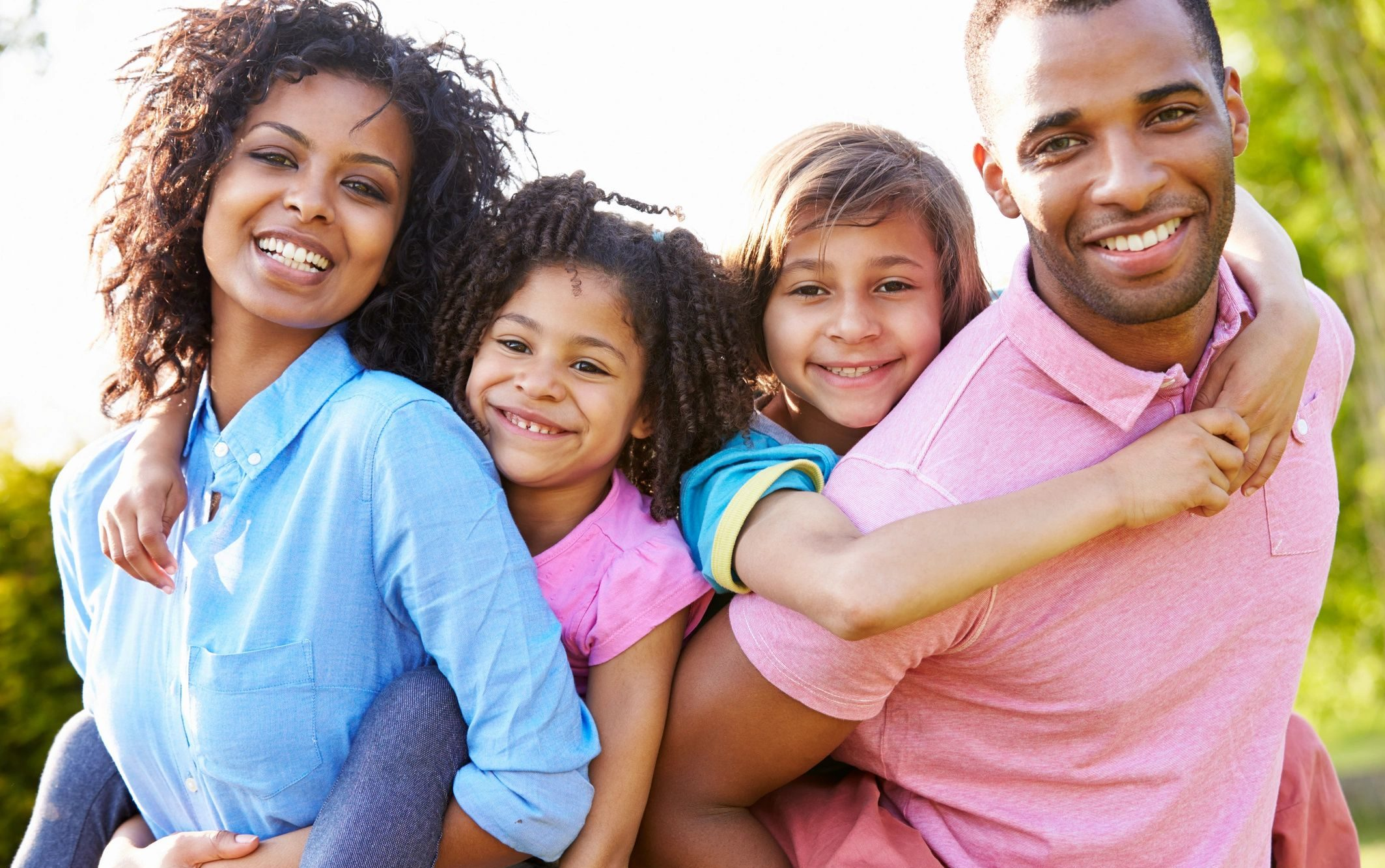 Happy Family Recovering after Play Therapy for Children in Mesa AZ